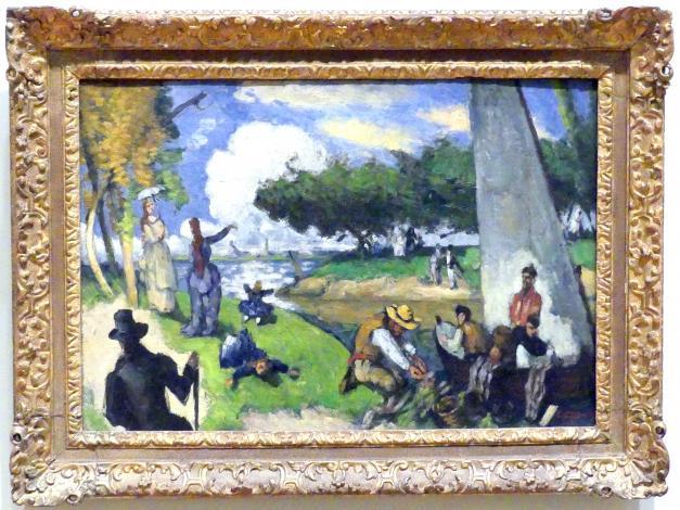 Paul Cézanne: Die Fischer (Fantastische Szene), um 1875