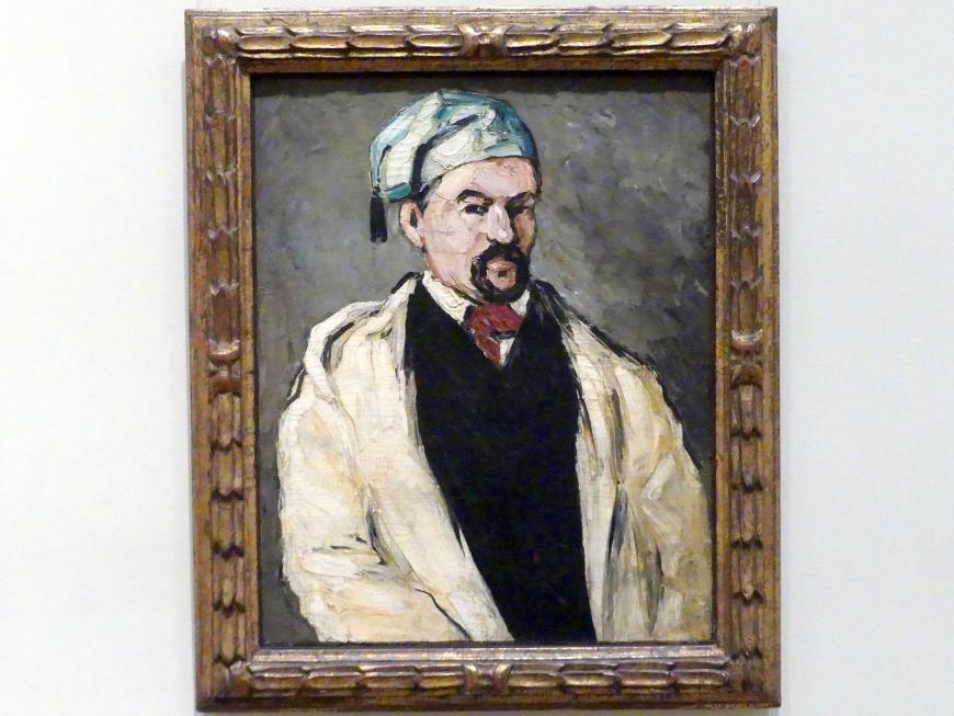 Paul Cézanne: Antoine Dominique Sauveur Aubert (geb. 1817), der Onkel des Künstlers, 1866