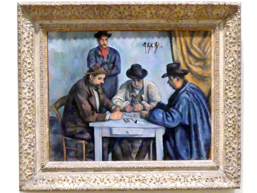 Paul Cézanne: Die Kartenspieler, 1890 - 1892