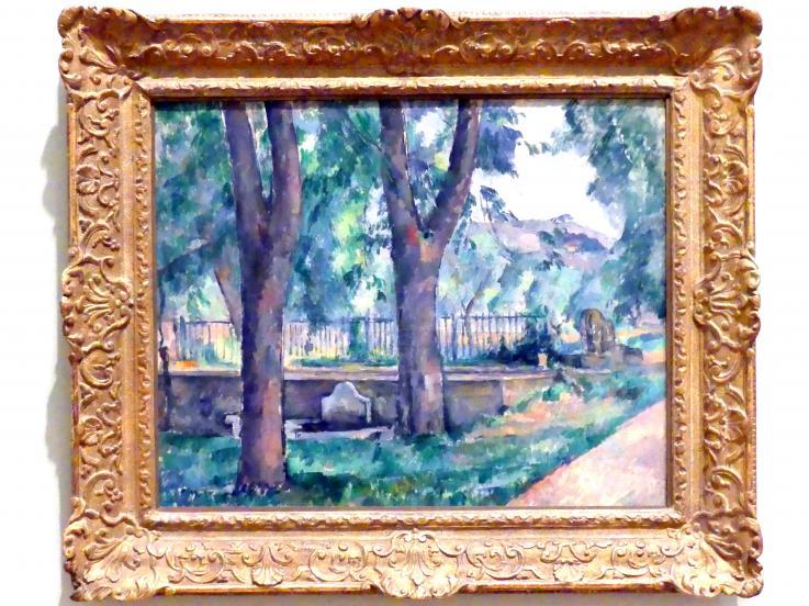 Paul Cézanne: Der Pool bei Jas de Bouffan, um 1885 - 1886