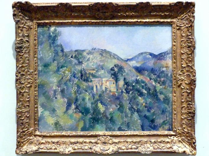 Paul Cézanne: Blick auf die Domaine Saint-Joseph, um 1885 - 1890