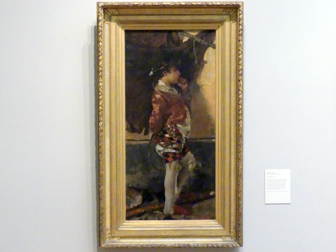 Antonio Mancini: Zirkusjunge, 1872