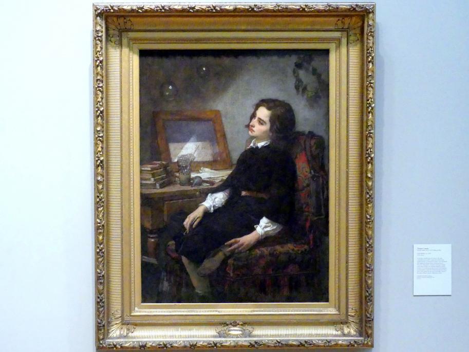 Thomas Couture: Seifenblasen, um 1859