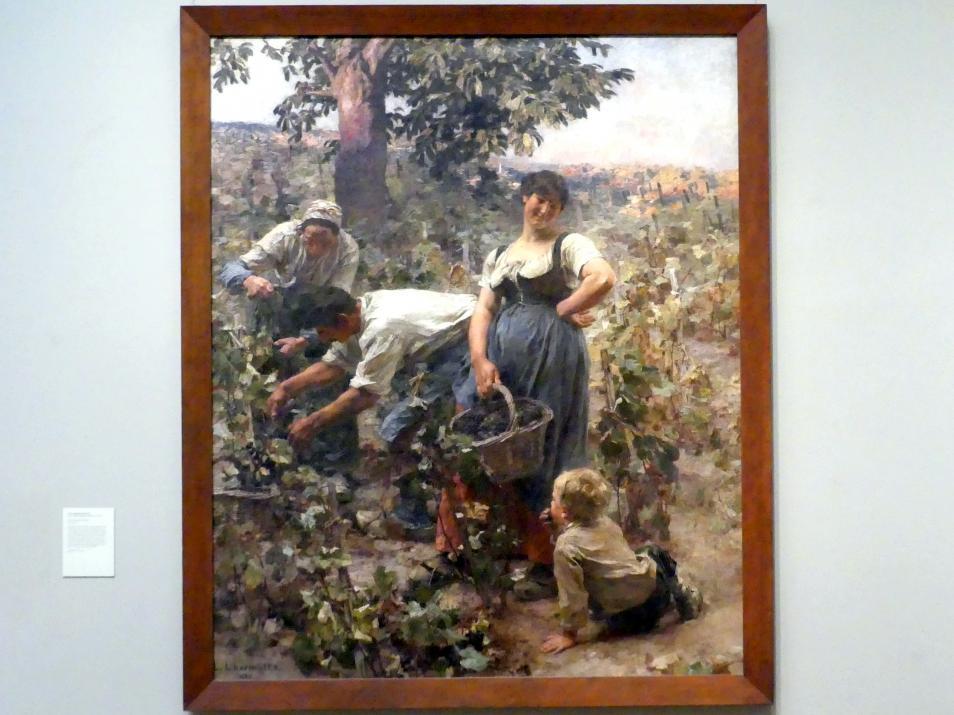 Léon Augustin Lhermitte: Weinlese, 1884