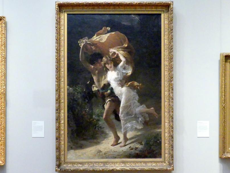 Pierre Auguste Cot: Der Sturm, 1880