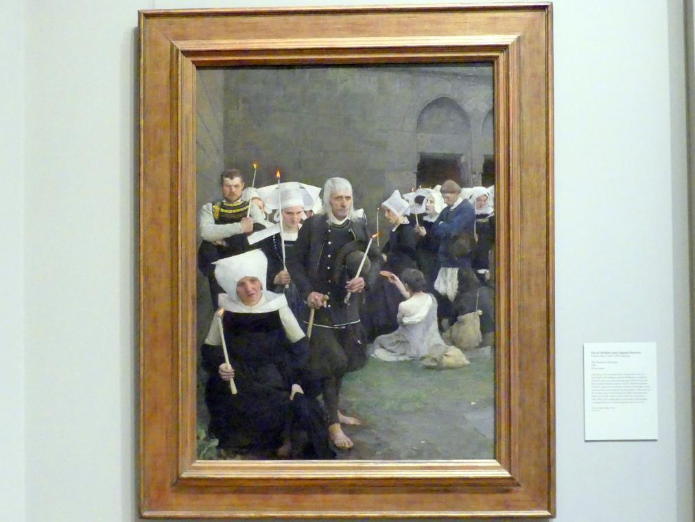Pascal Adolphe Jean Dagnan (Dagnan-Bouveret): Der Pardon in der Bretagne, 1886