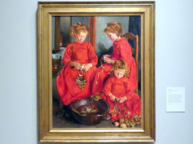 Léon Frédéric: Die drei Schwestern, 1896