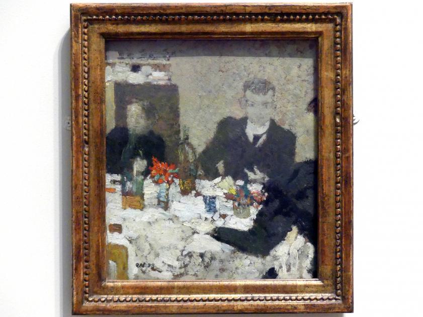 Édouard Vuillard: Am Tisch, 1893