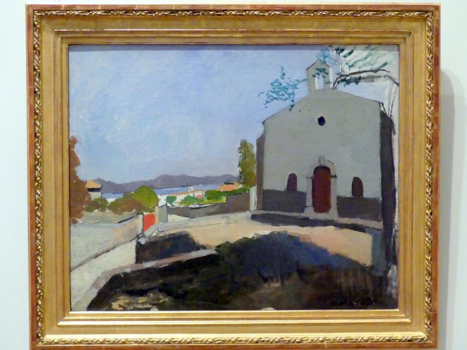 Henri Matisse: Kapelle des Heiligen Joseph, Saint-Tropez, 1904