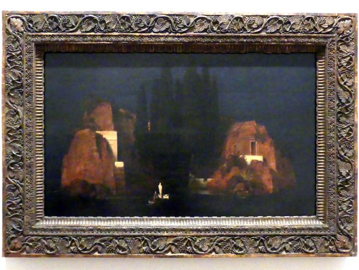 Arnold Böcklin: Toteninsel, 1880