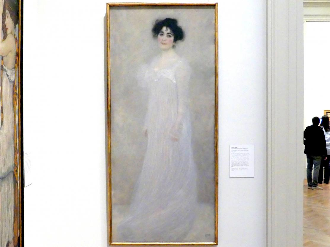 Gustav Klimt: Serena Lederer, geb. Pulitzer (1867-1943), 1899