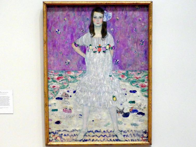 Gustav Klimt: Mäda Primavesi (1903-2000), 1912