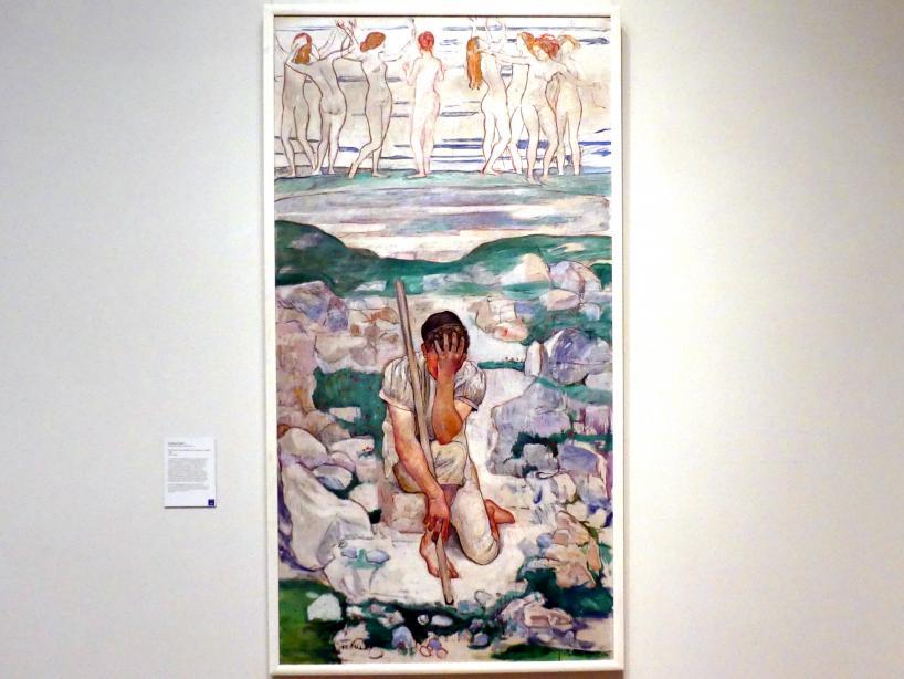 Ferdinand Hodler: Der Traum der Hirten, 1896