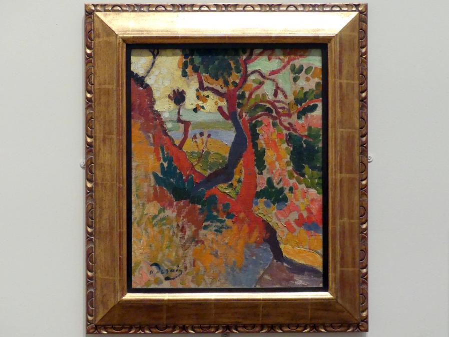 André Derain: Der versunkene Pfad, L'Estaque, 1906