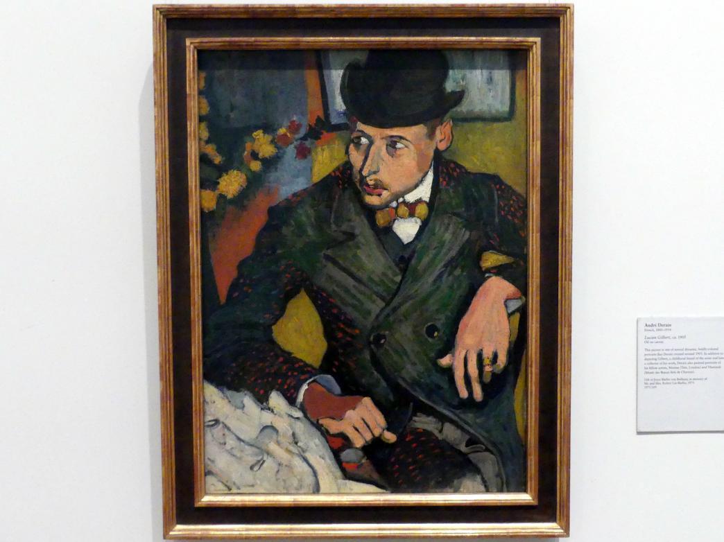 André Derain: Porträt von Lucien Gilbert, um 1905