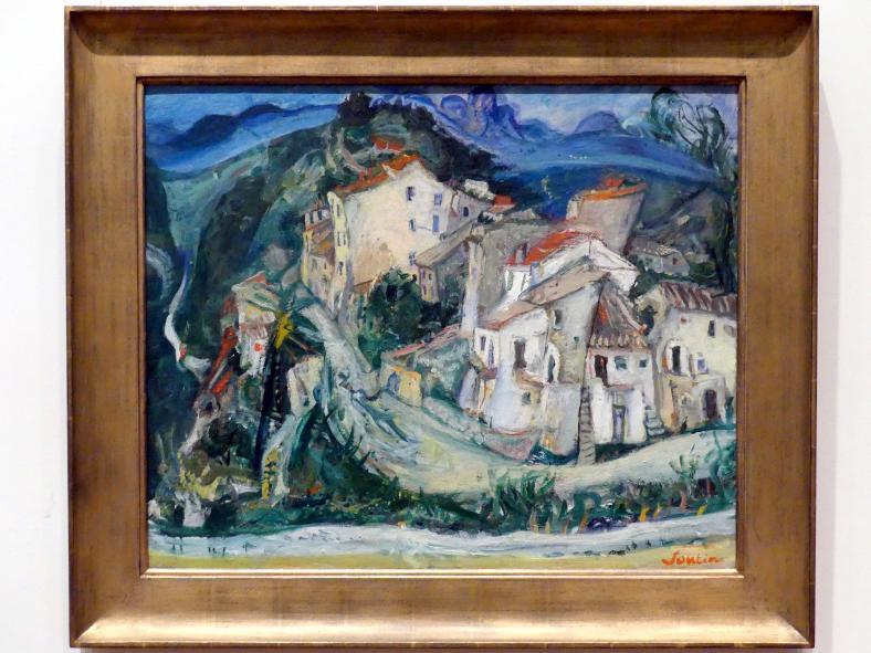 Chaïm Soutine: Blick auf Sagnes, um 1924 - 1925