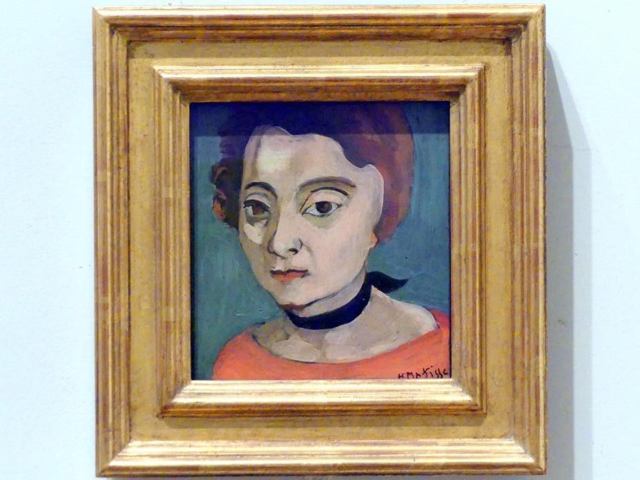 Henri Matisse: Marguerite (1894-1982), 1916