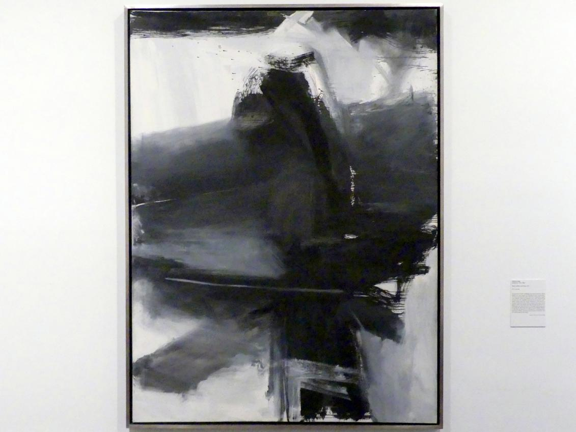 Franz Kline: Schwarz, Weiß und Grau, 1959