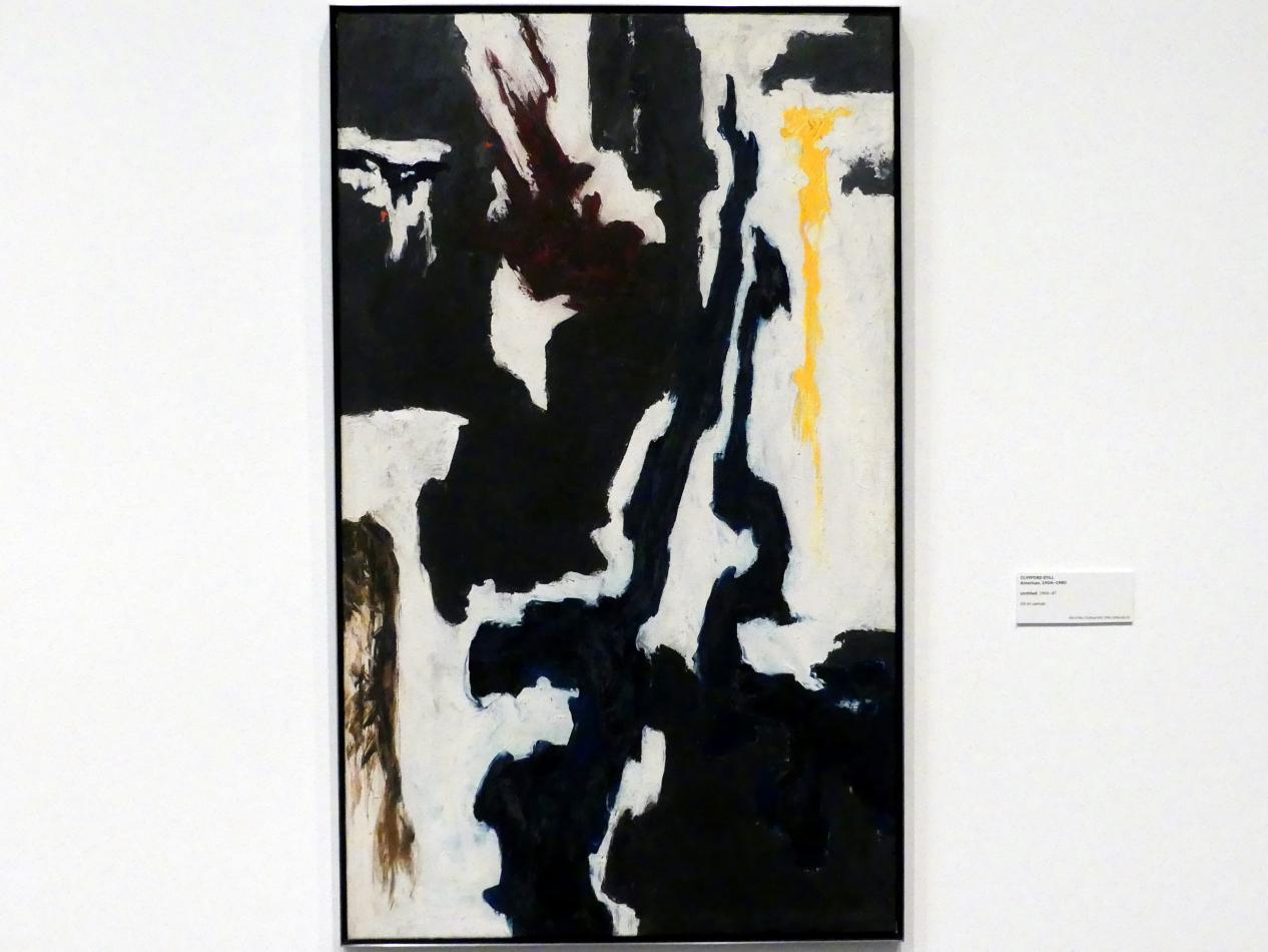 Clyfford Still: Ohne Titel, 1946 - 1947