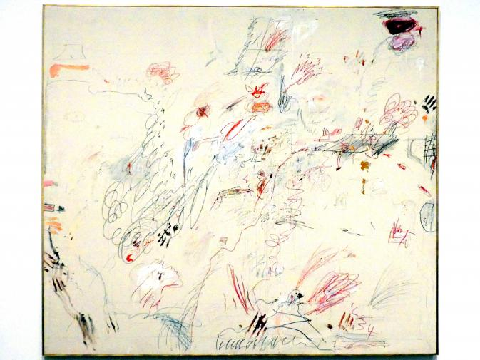 Cy Twombly: Holländisches Interieur, 1962