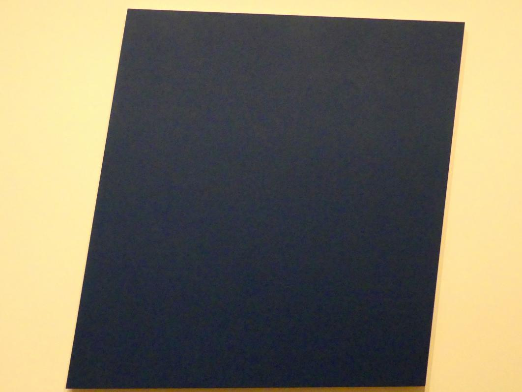 Ellsworth Kelly: Blaues Feld II, 1977