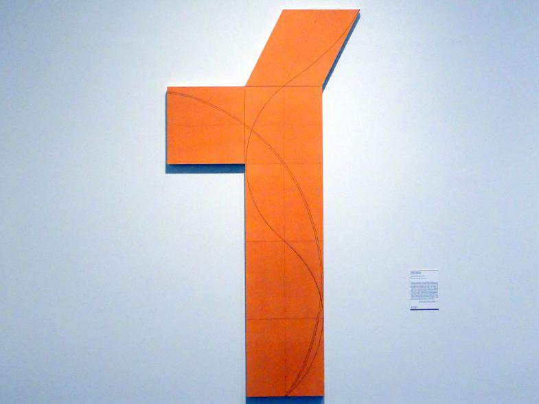 Robert Mangold: Spaltenstruktur VIII, 2006