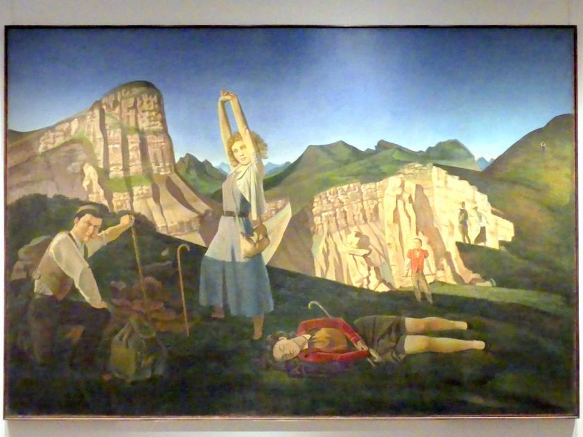 Balthus (Balthasar Kłossowski de Rola): Der Berg, 1936 - 1937