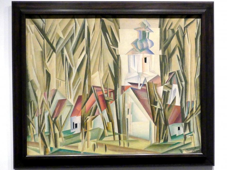 Lyonel Feininger: Lehnstedt, 1917