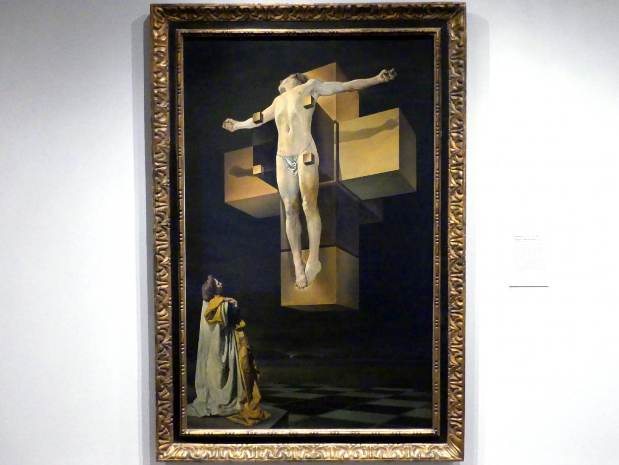 Salvador Dalí: Kreuzigung (Corpus Hypercubus), 1954