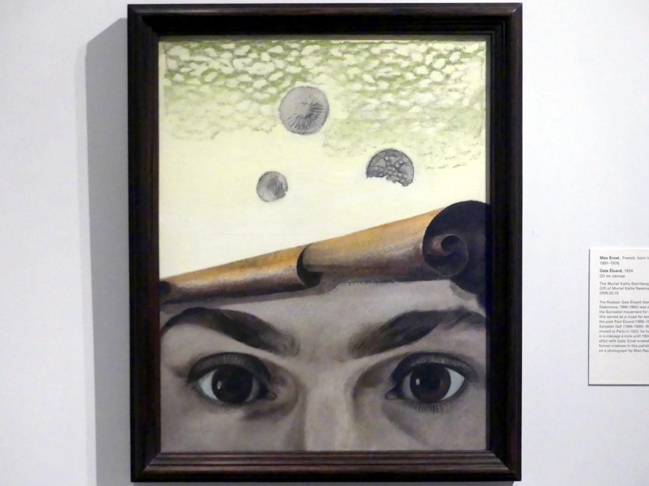 Max Ernst: Gala Éluard, 1924