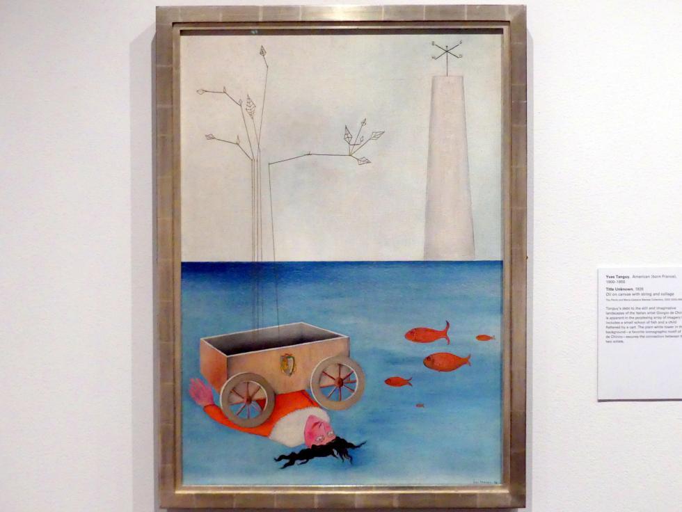 Yves Tanguy: Titel unbekannt, 1926