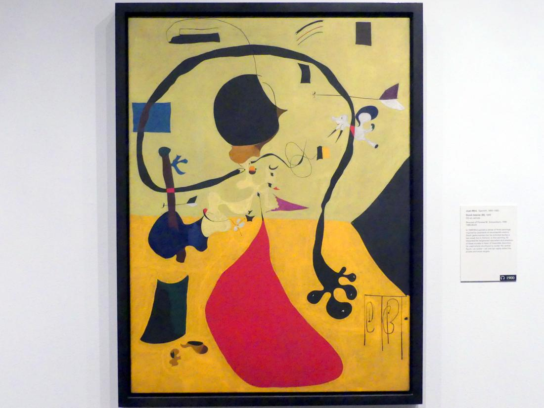 Joan Miró: Holländisches Interieur (III), 1928
