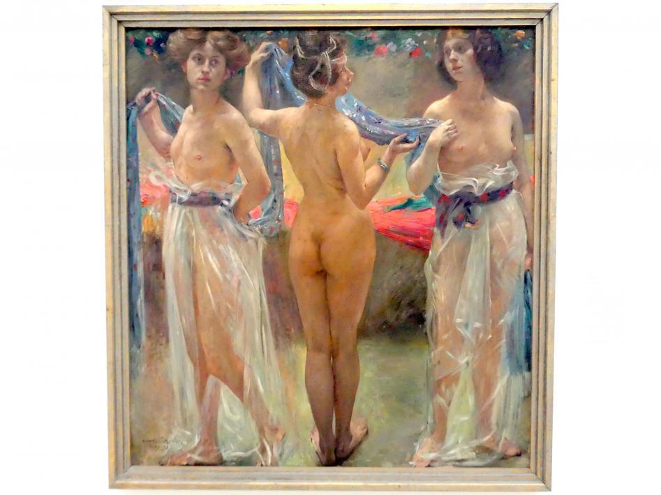 Lovis Corinth: Drei Grazien, 1904