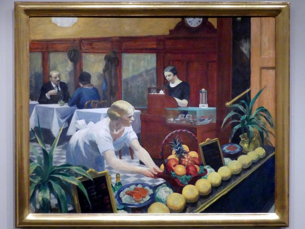 Edward Hopper: Tische für Damen, 1930
