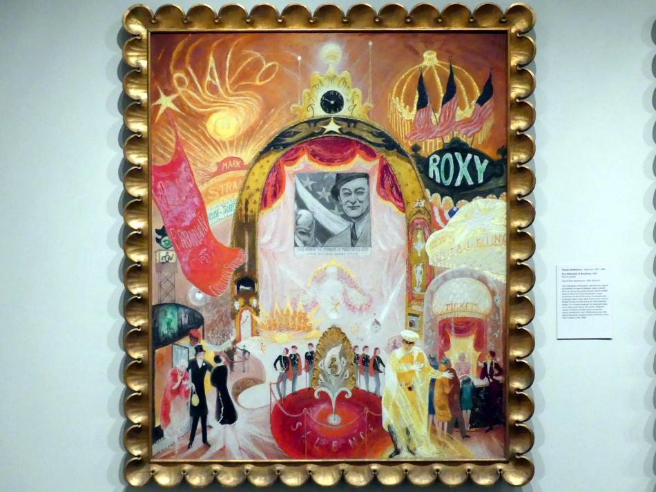 Florine Stettheimer: Die Kathedralen des Broadway, 1929