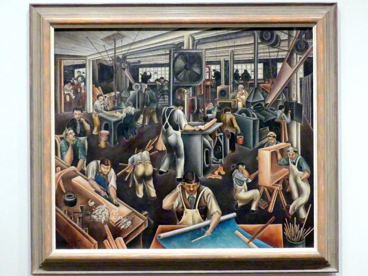 Bumpei Usui: Die Möbelfabrik, 1925