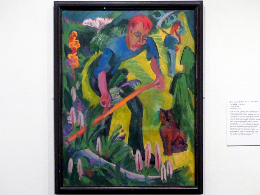 Ernst Ludwig Kirchner: Der Schnitter, 1919 - 1920