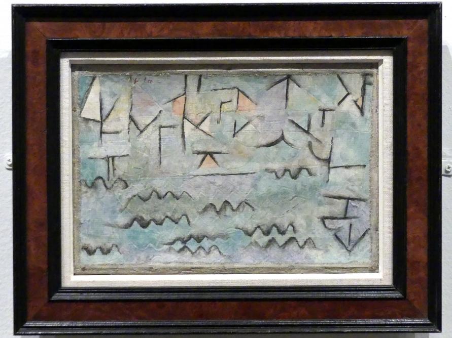 Paul Klee: Der Rhein bei Duisburg, 1937