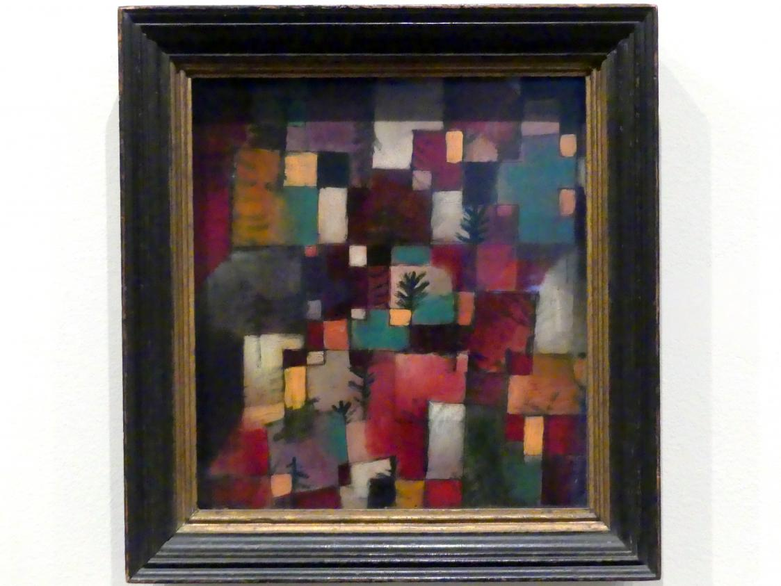 Paul Klee: Rotgrüne und violett-gelbe Rhythmen, 1920