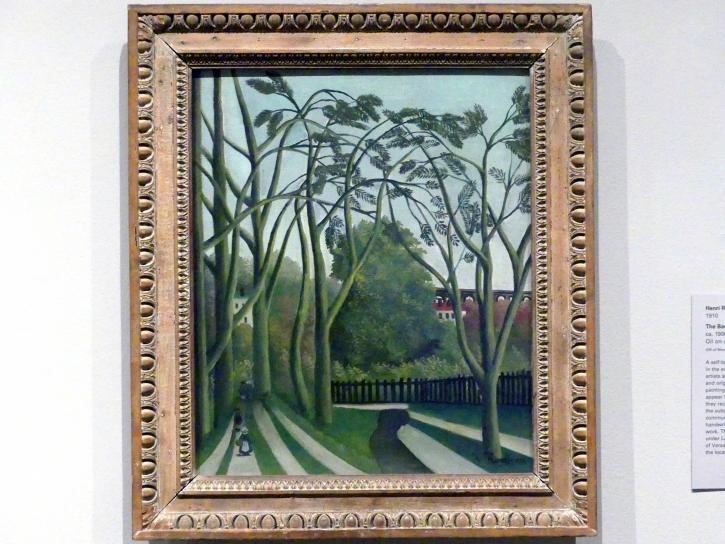 Henri Rousseau (Le Douanier): Die Ufer des Bièvre bei Bicêtre, um 1908 - 1909