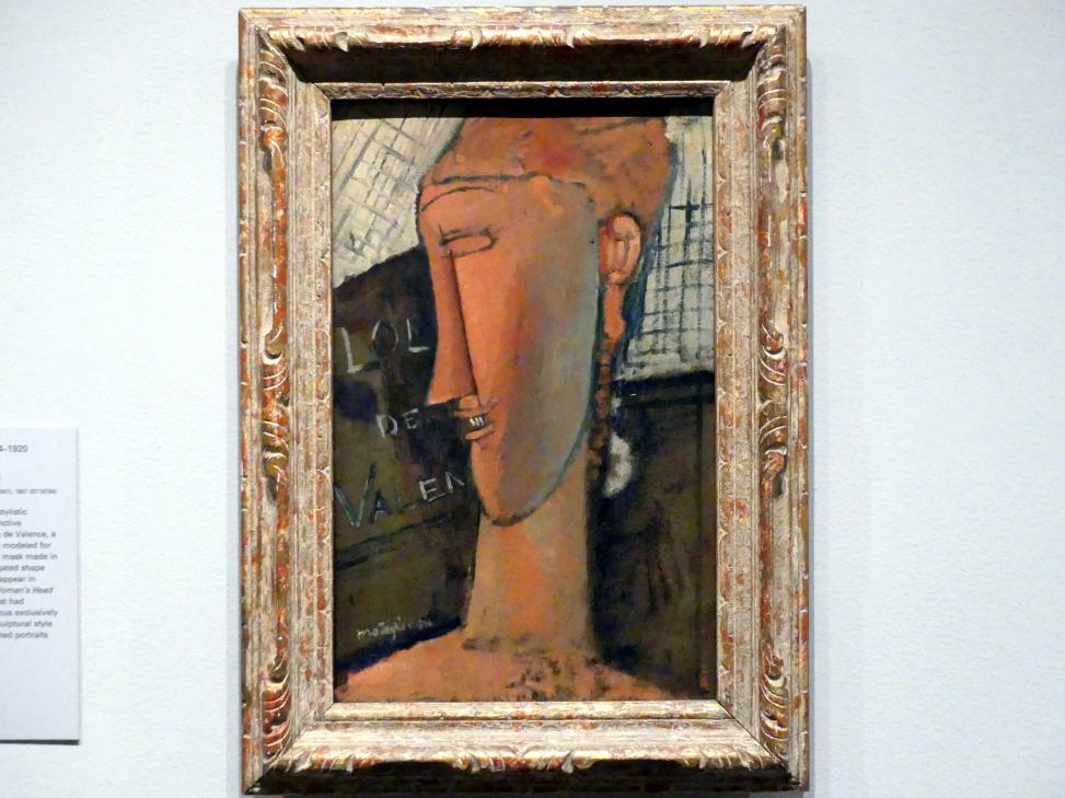 Amedeo Modigliani: Lola de Valence, 1915