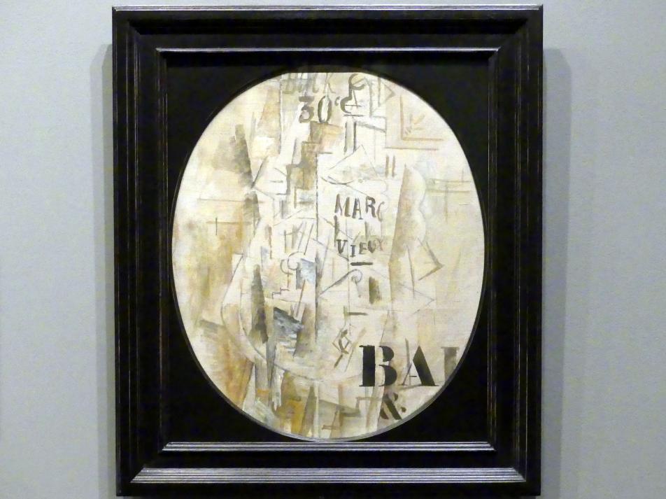 Georges Braque: Flasche von Marc Vieux, 1912
