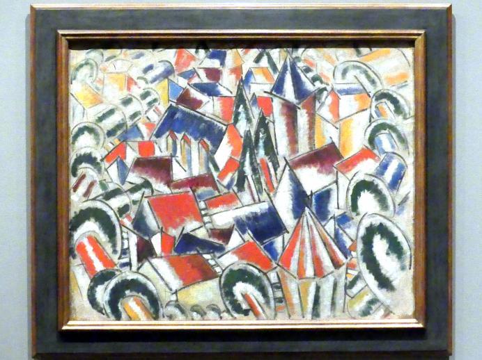 Fernand Léger: Das Dorf, 1914