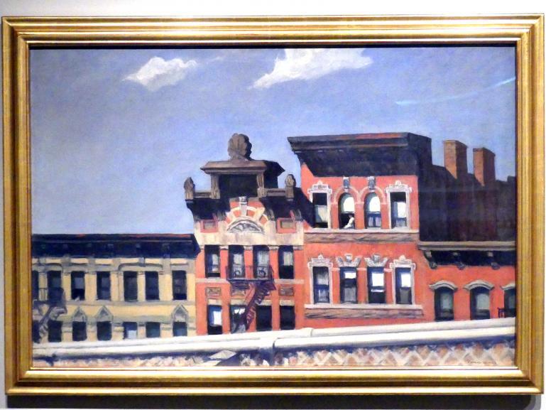 Edward Hopper: Von der Williamsburg Bridge, 1928