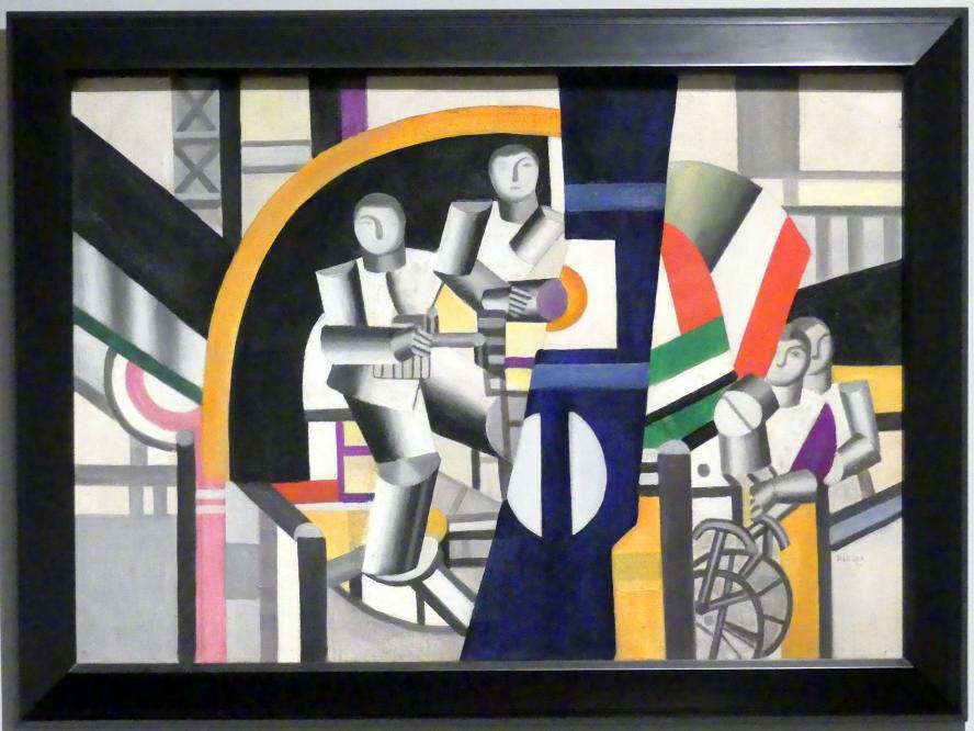 Fernand Léger: Die Bauarbeiter, 1920