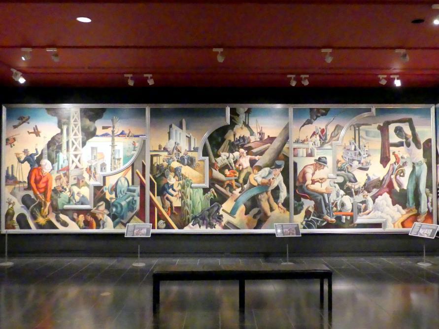 Thomas Hart Benton: Amerika heute, 1930 - 1931
