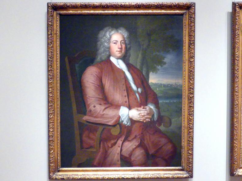 John Smibert: Francis Brinley, 1729