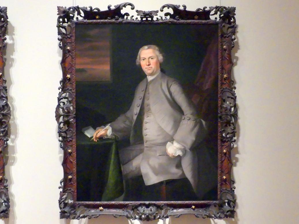 Joseph Blackburn: Samuel Cutts, um 1762 - 1763