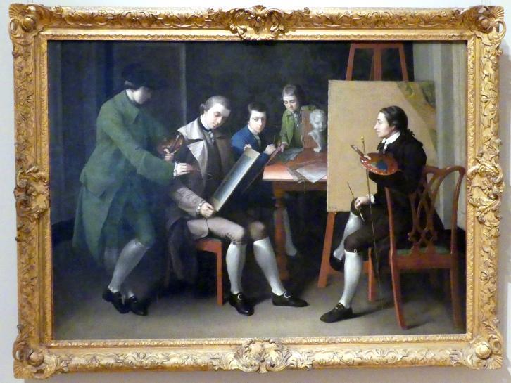 Matthew Pratt: Die Amerikanische Schule, 1765