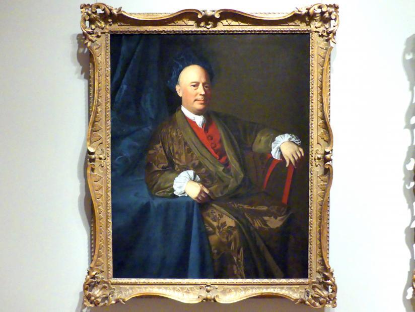 John Singleton Copley: Joseph Sherburne, um 1767 - 1770